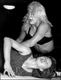 Penny was always a tough competitive in the ring throughout her 20+ year career.