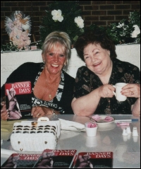 Penny and the co-author of her just-released autobiography, Gerry Hostetler, at a recent book signing.