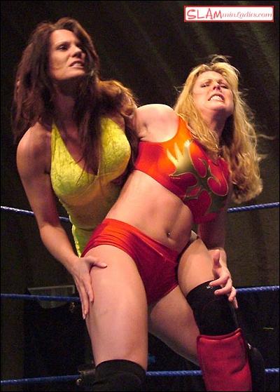 Wrestling diva candice nude modeling 8